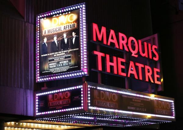 Up on the marquee il divo a musical affair - Il divo bring him home ...