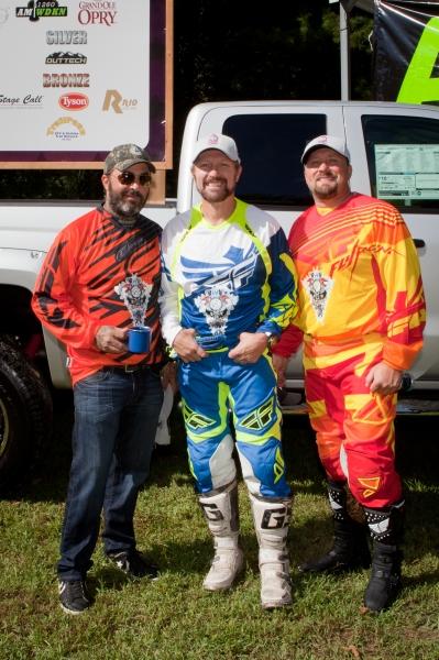 Aaron Lewis, Craig Morgan and Tate Stevens Photo