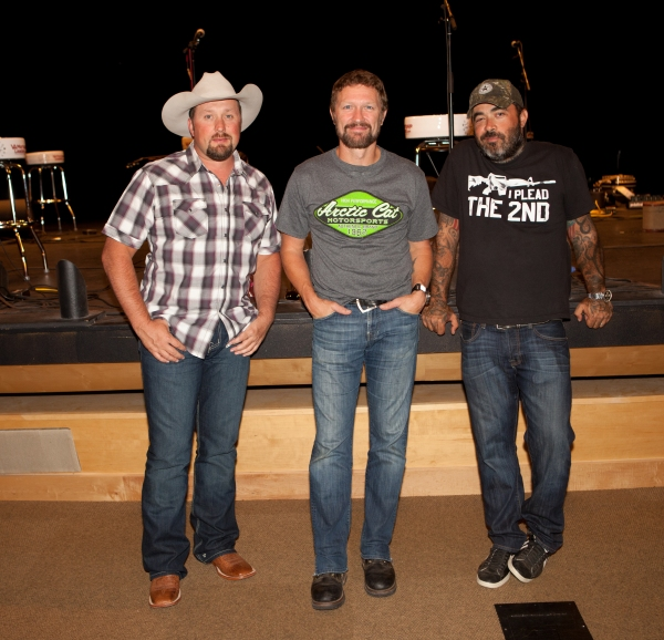 Tate Stevens, Craig Morgan and Aaron Lewis