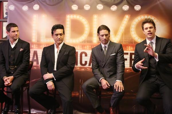 Photo Coverage: IL DIVO: A MUSICAL AFFAIR Meets the Press