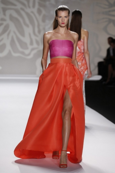 Photo Coverage: Monique Lhuillier S/S 2014 Collection Preview!