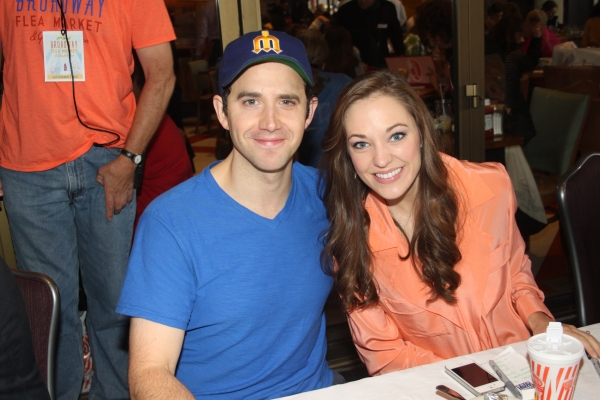 Photo Coverage: BC/EFA 2013 Flea Market Celebrity Tables Part Two