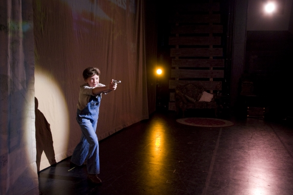 Molly Leach as Young Clyde. Photo by John Gusky.