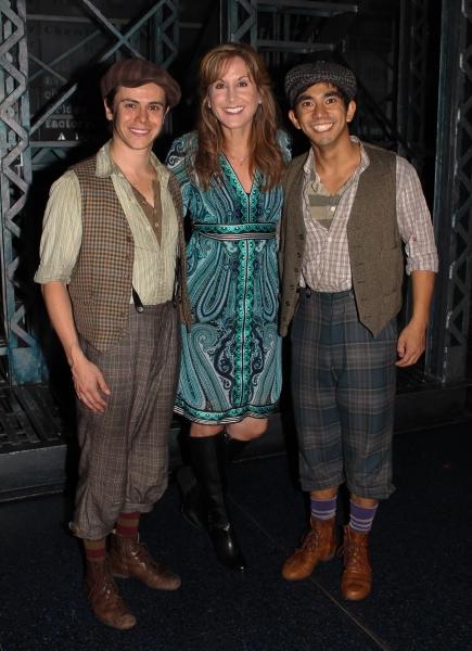 Tommy Martinez, Jodi Benson and Aaron J. Albano Photo