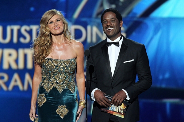 Connie Britton and Blair Underwood