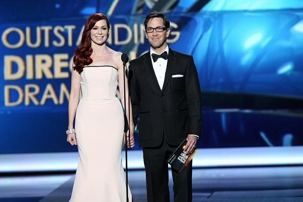 Carrie Preston and Dan Bucatinsky