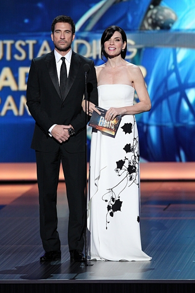 Dylan McDermott and Julianna Margulies