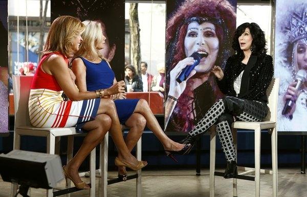 Hoda Kotb, Kathie Lee Gifford and Cher