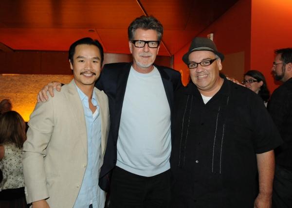 Trieu Tran, Robert Egan and Luis Alfaro