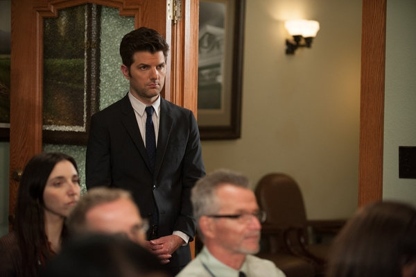 PARKS AND RECREATION -- ''The Pawnee-Eagleton Tip Off Classic'' Episode 603 -- Pictured: Adam Scott as Ben Wyatt -- (Photo by: Colleen Hayes/NBC)