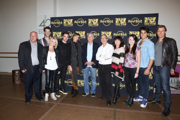 Ryan Knowles, Ruby Lewis, Brian Justin Crum, Jane Rosenthal, Robert De Niro, Erika Peck, Jared Zirilli, P.J. Griffith with Director Ben Elton, Arllene Phillips & Company