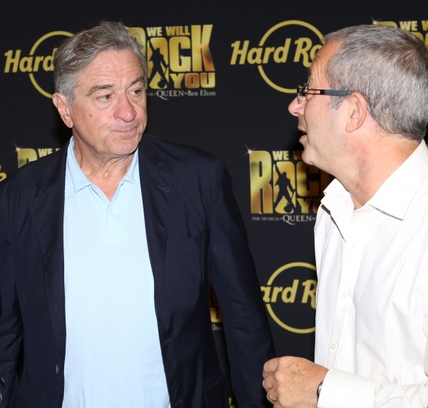 Robert De Niro with Director Ben Elton