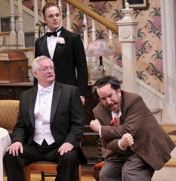 Paul Hope as Mr. Kirby, Jay Sullivan as Tony Kirby and John Tyson as Boris Kolenkhov