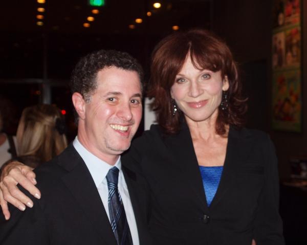 Director Jeff Maynard with Marilu Henner. Photo