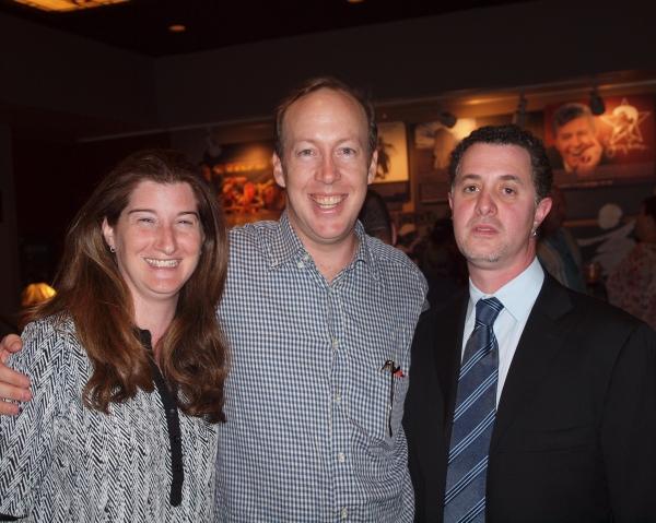 Annalea Arnold, Evan Arnold, and Jeff Maynard. Photo