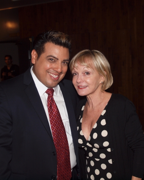 Devis Andrade with Executive Producer Cathy Rigby.