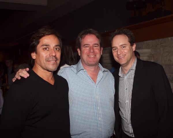 Lorenzo Andarza, David Elzer, and Producing Artistic Director Brian Kite.