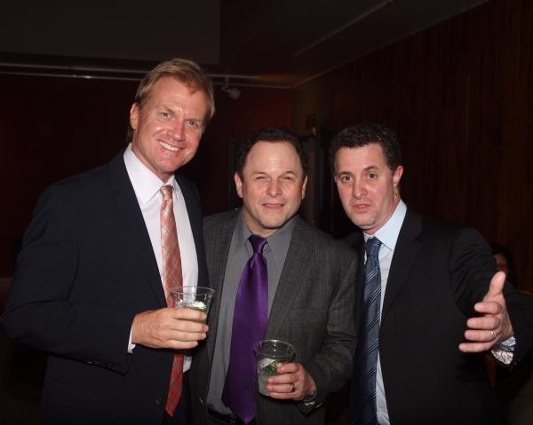 Executive Producer Tom McCoy, Jason Alexander, and Jeff Maynard Photo