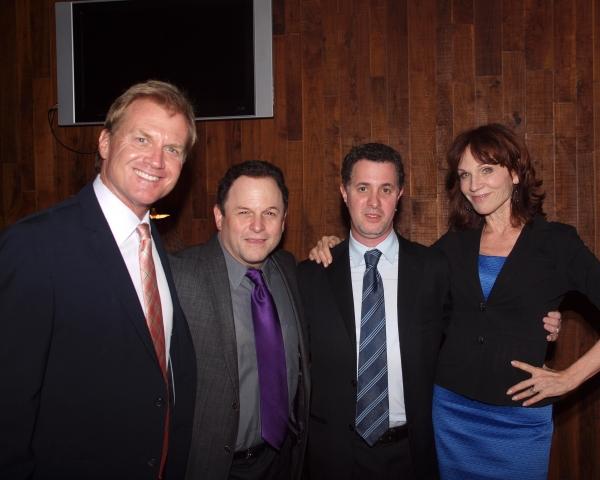 Tom McCoy, Jason Alexander, Jeff Maynard, and Marilu Henner Photo