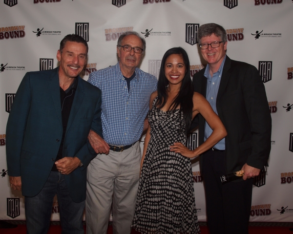 John Mariano, Allan Miller, Jasmine Ejan, and friend.