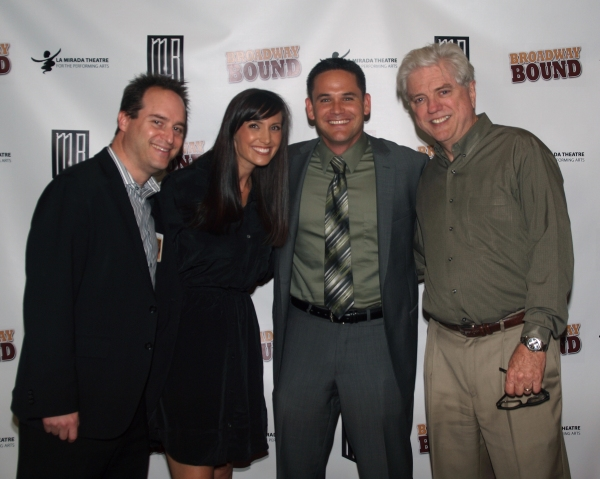 Brian Kite, La Mirada City Manager Jeff Boynton, and Mayor Lawrence P. Mowles.