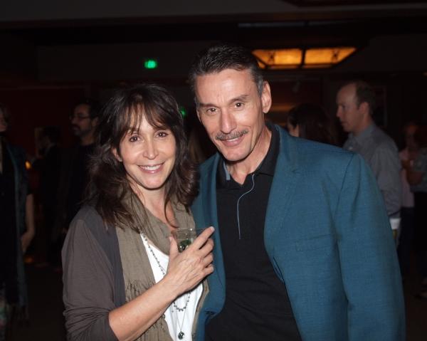 Gina Hecht and John Mariano.
