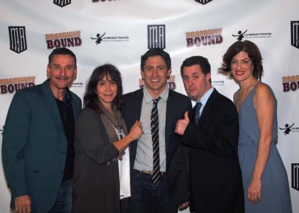 John Mariano, Gina Hecht, Ian Alda, Jeff Maynard, and Cate Cohen.