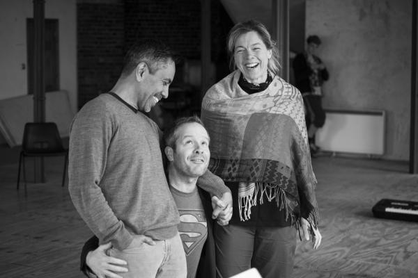 David Bedella, Damian Humbley & Janie Dee