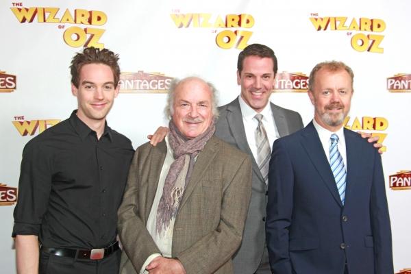 Jamie Mc Knight (Scarcrow), Cedric Smith (Wizard), Mike Jackson ((Tin Man), Lee MacDo Photo