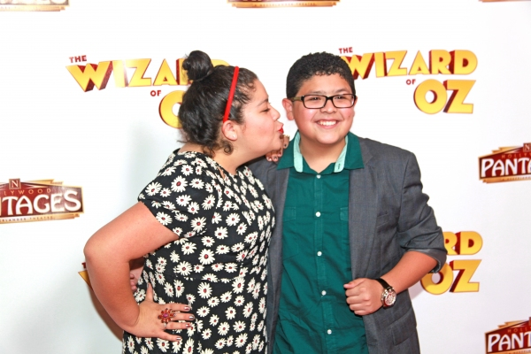 sibs: Raini Rodriguez (Austin and Ally) w/ Rico Rodriguez (Modern Family)