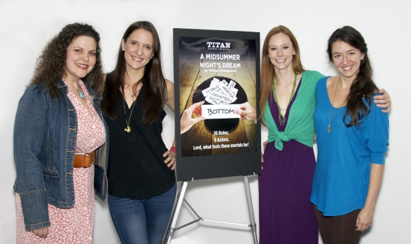 Tressa Preston, Laura Frye, Emily Trask, Alexis Black Photo