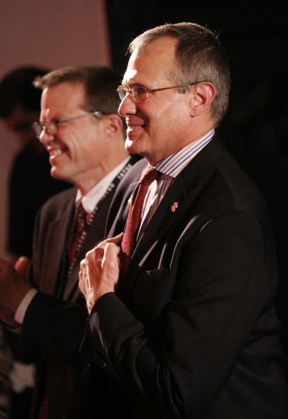 Mark Schweppe and Nick Kaledin  Photo