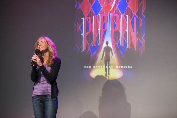 Photo Coverage: Patina Miller, Matthew James Thomas & PIPPIN Cast Perform at Apple Store