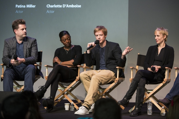 Paul Wontorek, Patina Miller, Matthew James Thomas and Charlotte D''Amboise