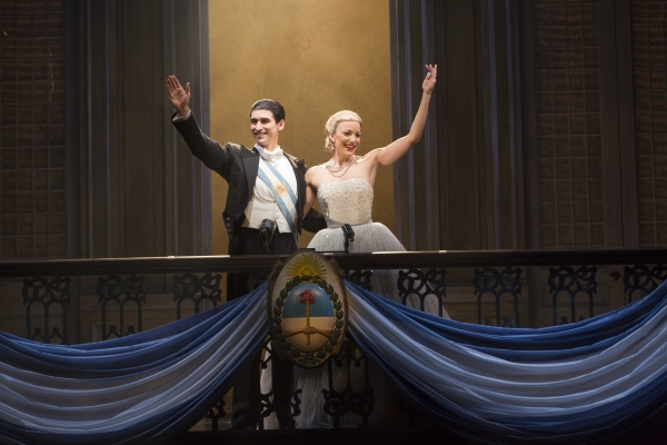 Photo Flash: First Look at Josh Young, Caroline Bowman & More in EVITA National Tour!