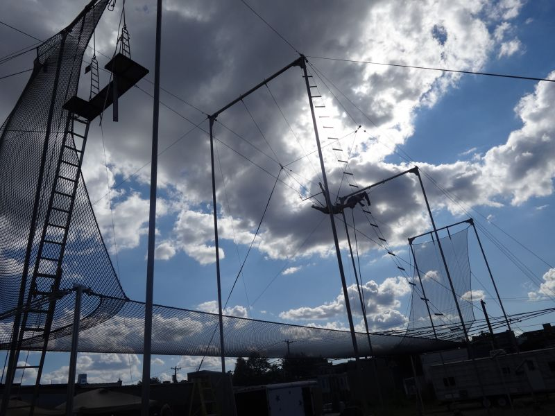 Fly School Circus Arts Opens New Flying Trapeze School