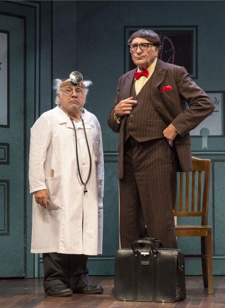 Danny DeVito and Judd Hirsch