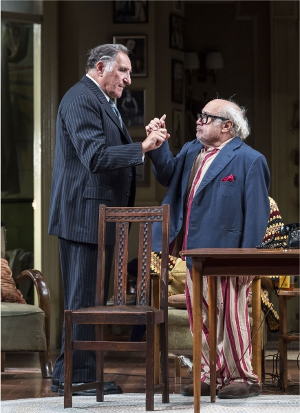 Judd Hirsch and Danny DeVito