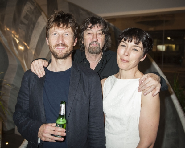 Mark Bazeley (Johan), Trevor Nunn and Olivia Williams (Marianne)