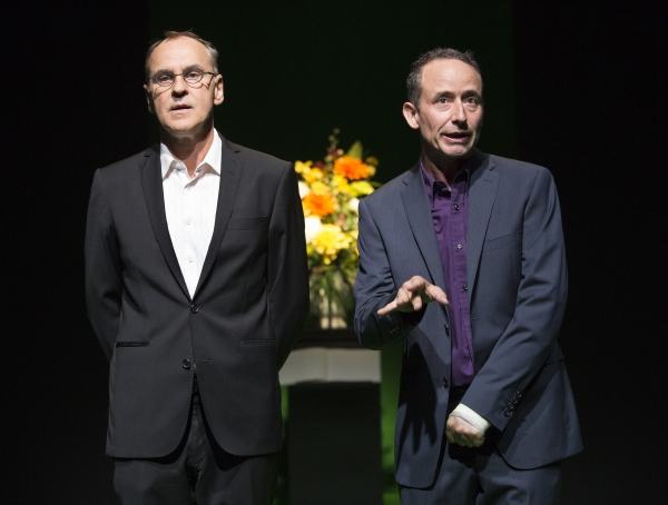 Daniel MacIvor and John Beale Photo