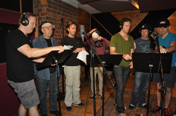 Fred Inkley, Joel Hatch, Dustin J. Harder, Ryan Vandenboom, Gavin Lodge, Kevin Quilllon and David Rossetti