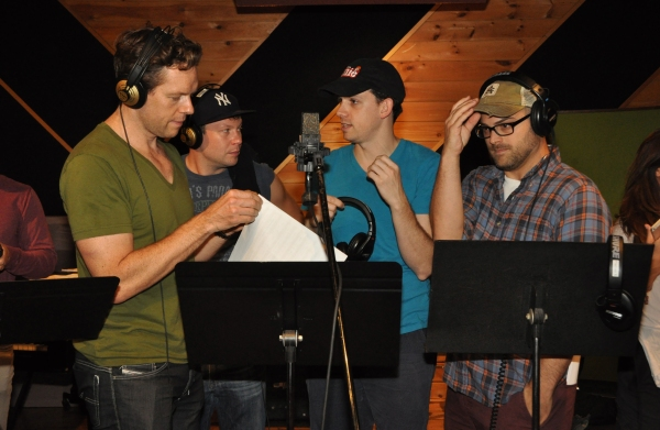 Gavin Lodge, Kevin Quillon, David Rossetti and Dustin J. Harder Photo