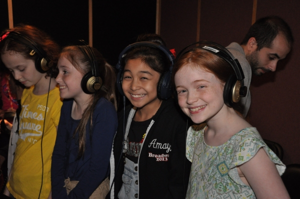 Taylor Richardson, Gaby Bradbury, Amaya Braganza and Sadie Sink