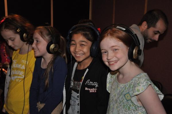 Taylor Richardson, Gaby Bradbury, Amaya Braganza and Sadie Sink