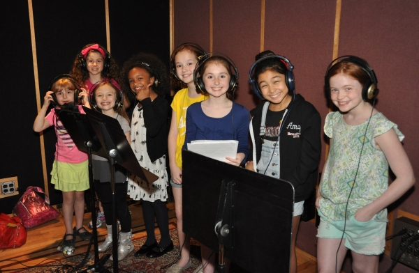 Exclusive Photo Coverage: Faith Prince & the Orphans of ANNIE Sing Carols For A Cure