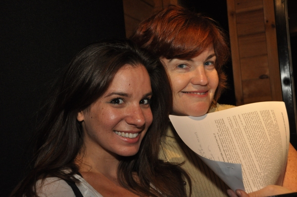 Mary Callanan and Alexandra Matteo