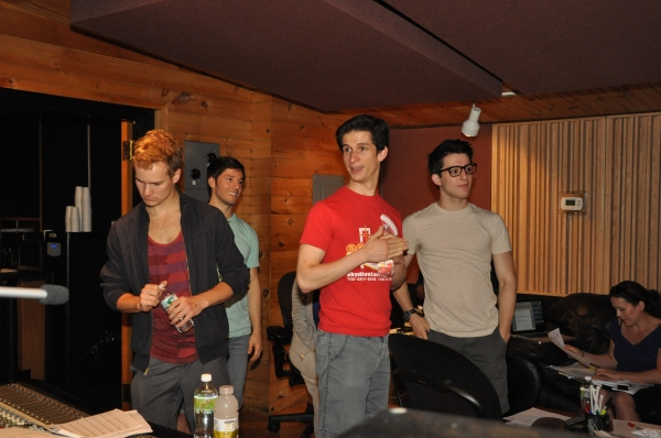 Ryan Steele, Thayne Jasperson, Colin Israel and Clay Thomson