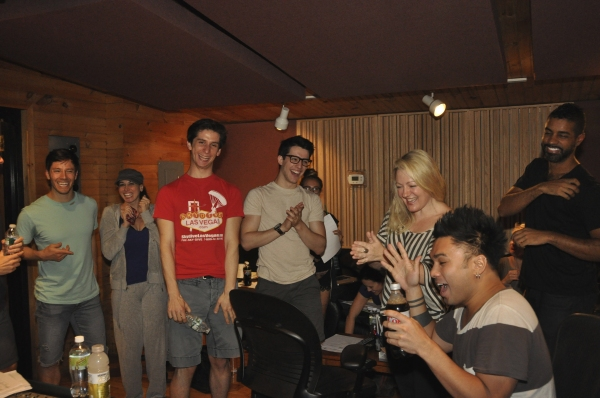 Thayne Jasperson, Lesli Margherita, Colin Israel, Heather Tepe, Lynn Pinto (Producer), Andros Rodriguez (Engineer) and Jason Michael Webb (Musical Director)