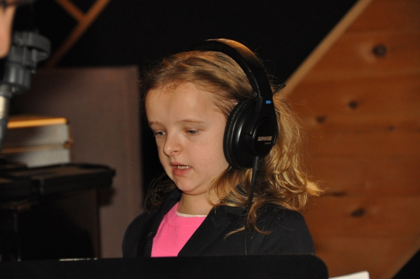 Exclusive Photos: MATILDA's Leading Ladies Record for Carols For A Cure!