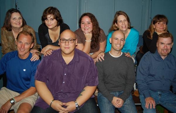 Back row: Suzanne Renaud, Dumont; Irene Hort, Fort Lee; Dana Kemp, Garfield; Claudia MacDermott, Teaneck; Allison Miller, Leonia; Front row: Owen Sheridan, Leonia; Andrew Reyes, Bogota;  Seth Feldman, Leonia; Frank McDonnell, River Edge